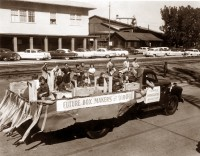 Future Box Makers of Diboll in an undated Diboll Day parade.
