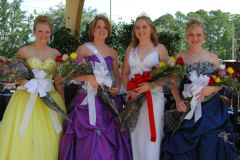 2008 Diboll Day Queen Candidates